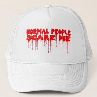 正常な人々は私を帽子おびえさせます キャップ