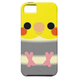 正常な雑色のCockatiel iPhone SE/5/5s ケース