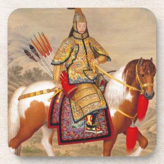 正式の装甲の中国のQianlong皇帝の乾隆帝 コースター