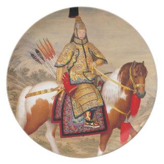 正式の装甲の中国のQianlong皇帝の乾隆帝 プレート