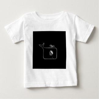 正方形のイルカ ベビーTシャツ