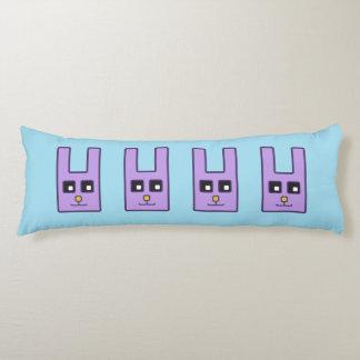 正方形のイースターのウサギの抱き枕 ボディピロー