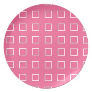 正方形のデザイン プレート