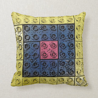 正方形のブロックの枕 クッション