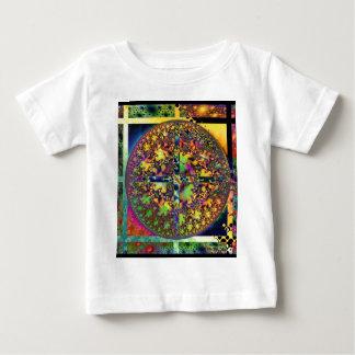 正方形の円 ベビーTシャツ
