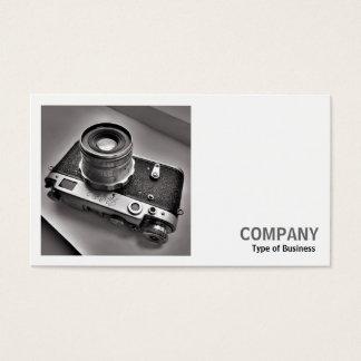 正方形の写真(v2) -ロシアのな距離計のカメラ 名刺