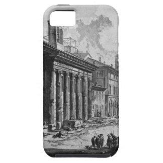 正方形の口のCybeleの寺院の眺め iPhone SE/5/5s ケース