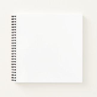 正方形の定形ノート ノートブック
