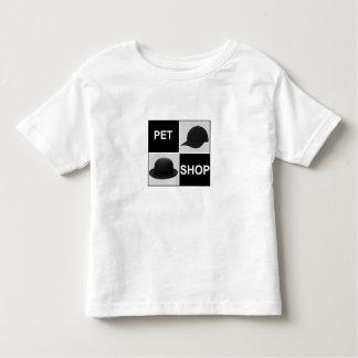 正方形の幼児のTシャツ トドラーTシャツ