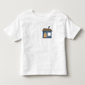 正方形のTシャツ トドラーTシャツ