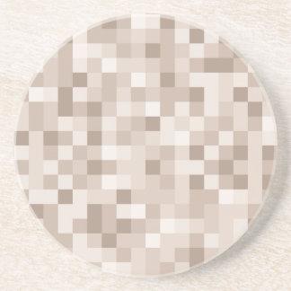 正方形パターンコースター コースター