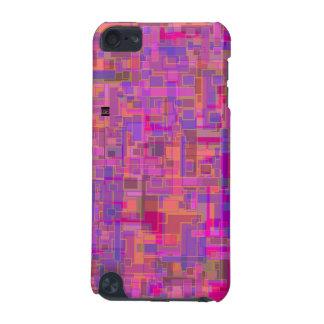 正方形パターン3DピンクSpeck ipod touch iPod Touch 5G ケース