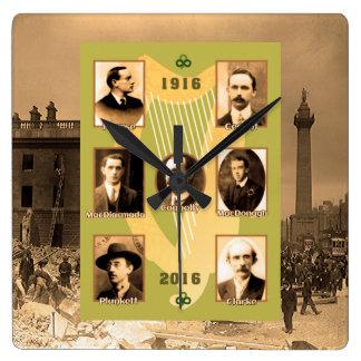 正方形壁時計のためのアイルランドの英雄 スクエア壁時計