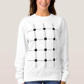 正方形 スウェットシャツ
