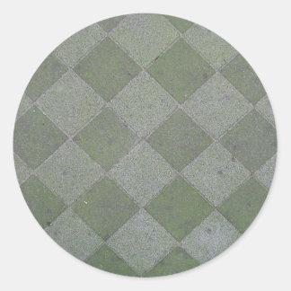 正方形 床 タイル 質 背景 シール
