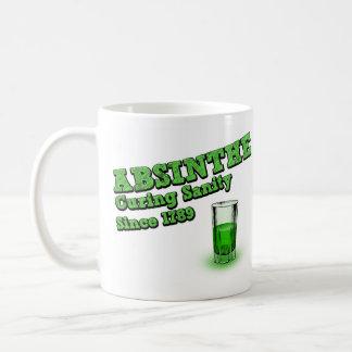 正気のマグを治すアブサン コーヒーマグカップ