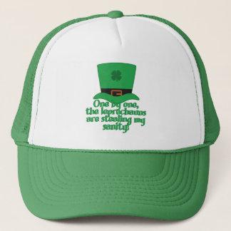 正気の帽子を盗んでいる小妖精 キャップ