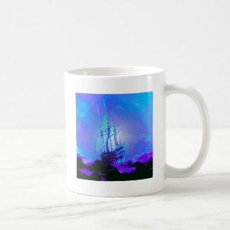 正直者、真実、完全性、名誉、船は、振ります コーヒーマグカップ