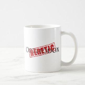 正統: 異端のゴム印 コーヒーマグカップ