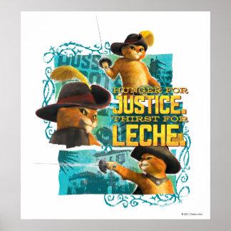 正義のための空腹 ポスター