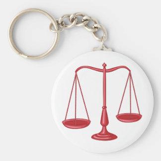 正義のはかりで測られる キーホルダー