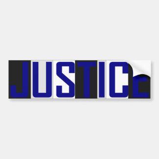 正義のバンパーステッカー バンパーステッカー
