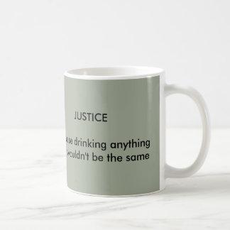 正義のマグ コーヒーマグカップ