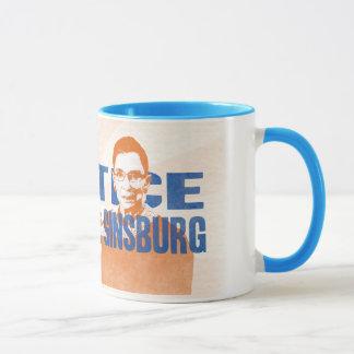 """正義のマグ。  ルースBader """"Badass"""" Ginsburg マグカップ"""