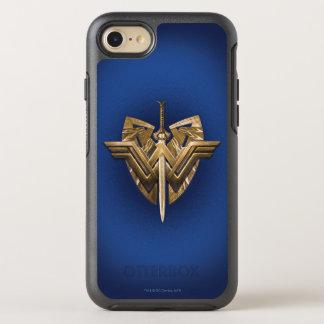 正義の剣とのワンダーウーマンの記号 オッターボックスシンメトリーiPhone 8/7 ケース