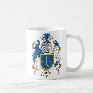 正義の家紋 コーヒーマグカップ