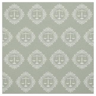正義|の法律のギフトの装飾的なスケール ファブリック