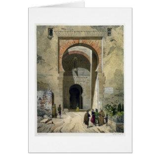 正義、アルハンブラへの入口、Graのゲート カード