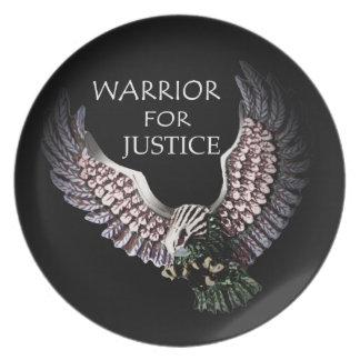 正義-プレートのための戦士 プレート