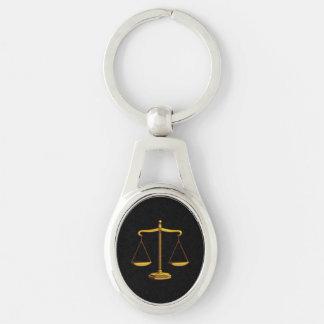 正義|弁護士のクラシックなスケール キーホルダー