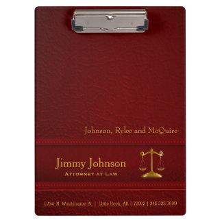正義|弁護士-赤のはかりで測られる法律| クリップボード