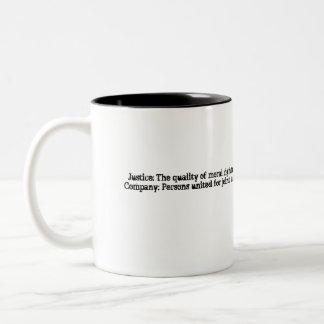 正義Co.のマグ ツートーンマグカップ