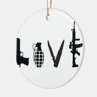 武器との愛 セラミックオーナメント