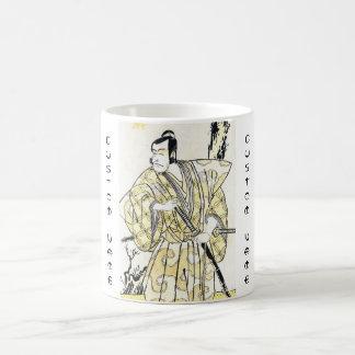 武士としてShuneiクラシックなヴィンテージの日本俳優 コーヒーマグカップ