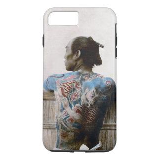武士の入れ墨- iPhone 7のプラスの場合のアジア人 iPhone 8 Plus/7 Plusケース