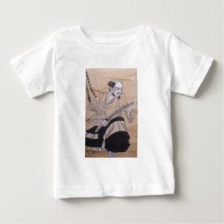 武士の古い絵画 ベビーTシャツ