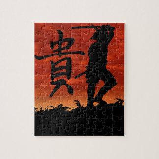 武士の名誉 ジグソーパズル