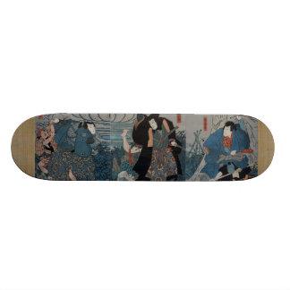 武士の待伏せ 21.6CM オールドスクールスケートボードデッキ