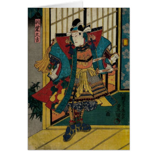 武士の戦士の19世紀 カード