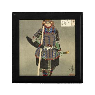 武士の戦士のYukimoriの山中幸盛- Yoshitoshiの月岡芳年 ギフトボックス