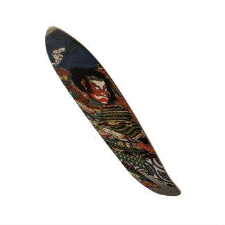 武士の戦士TadanoriおよびNoritsune スケートボード