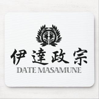 武士の日付Masamune マウスパッド