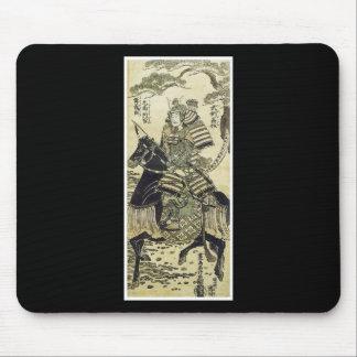武士の日本のな芸術のmousepad マウスパッド