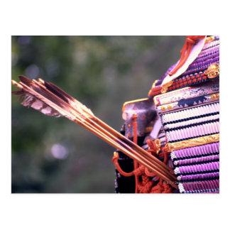 武士の衣裳の矢 ポストカード