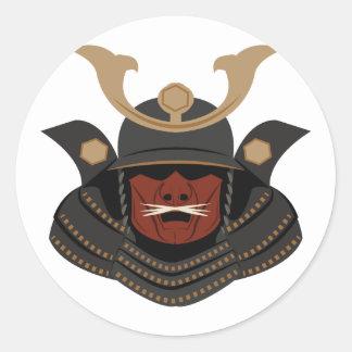 武士の装甲 ラウンドシール