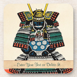 武士の装甲Ō-yoroiの日本のクラシックな芸術の入れ墨 コースター
